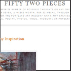 Fifty Two Pieces Blog