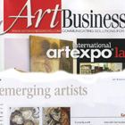 ART BUSINESS NEWS ~ Emerging Artist