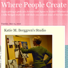 Where People Create, Studio Interview