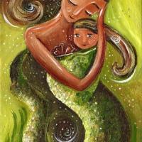 Mermaid Mama ~ #70 (SOLD)