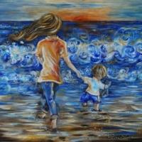 Following The Sun by Katie m. Berggren