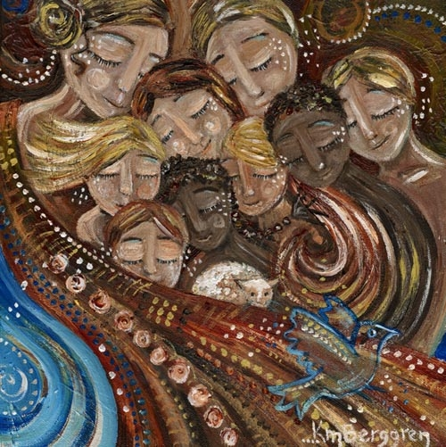 Gather Those We Love (sold)