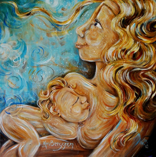 Whimsical Mother (sold)