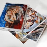 Katie m. Berggren boxed full color art cards