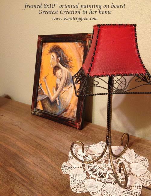 "framed 8x10"" original painting"