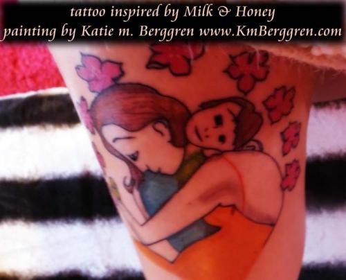 tattoo inspired by KmBerggren art