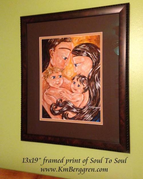 """framed 13x19"""" print"""