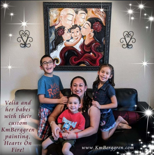 Velia's Family & Custom Painting!