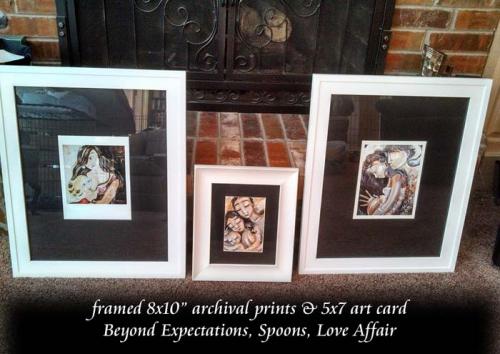 "framed 8x10"" prints"