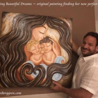 Dreaming Beautiful Dreams in her new home!