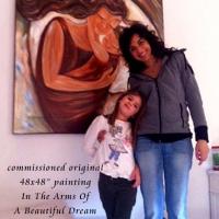 "original 48x48"" painting on canvas"