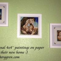 Original Paintings On Paper