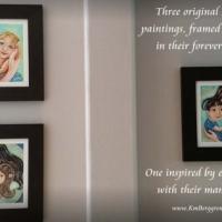 Original Paintings On Heavy Paper