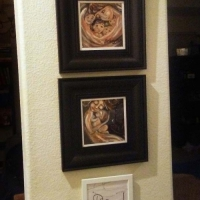 "Framed 12x12"" Motherhood Print"