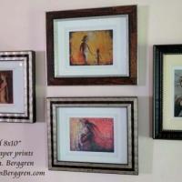 Framed Motherhood Prints