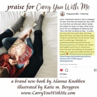 Carry You With Me Storybook Testimonial