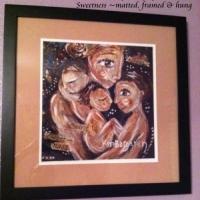 """framed 12x12"""" print of Spirit, Soul & Sweetness"""