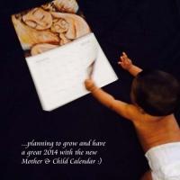 KmBerggren Mother & Child Calendar