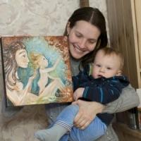Renewal, original painting on canvas