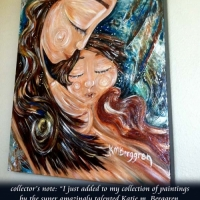 Breathe With Me, original painting on canvas