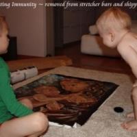 Immunity, original painting on canvas