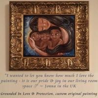 Collector Testimonial - Custom Original Painting
