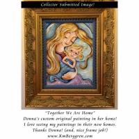 Donna's Custom Painting, framed