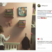 Original Paintings and Happy Little Girls!