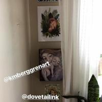 Michelle's art display :)