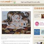 Natureal Mom featuring Katie m. Berggren artwork