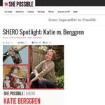 KmBerggren shero spotlight shepossible.com