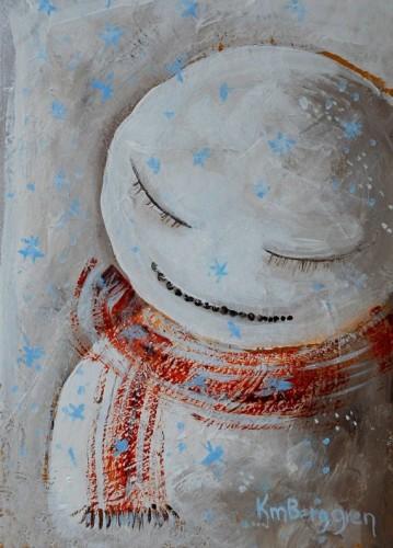 Spirit & Joy Snowman Holiday Cards by Katie m. Berggren