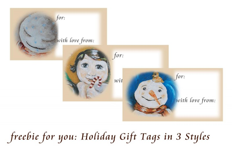 Holiday Gift Tags from Katie m. Berggren
