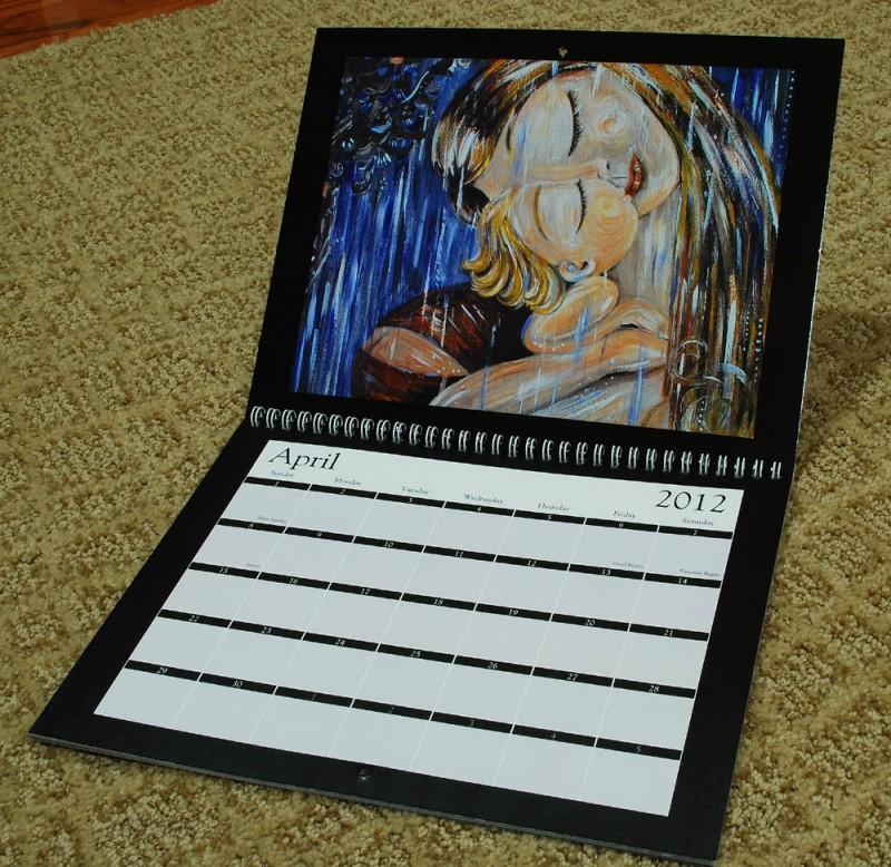 Katie m. Berggren motherhood calendar