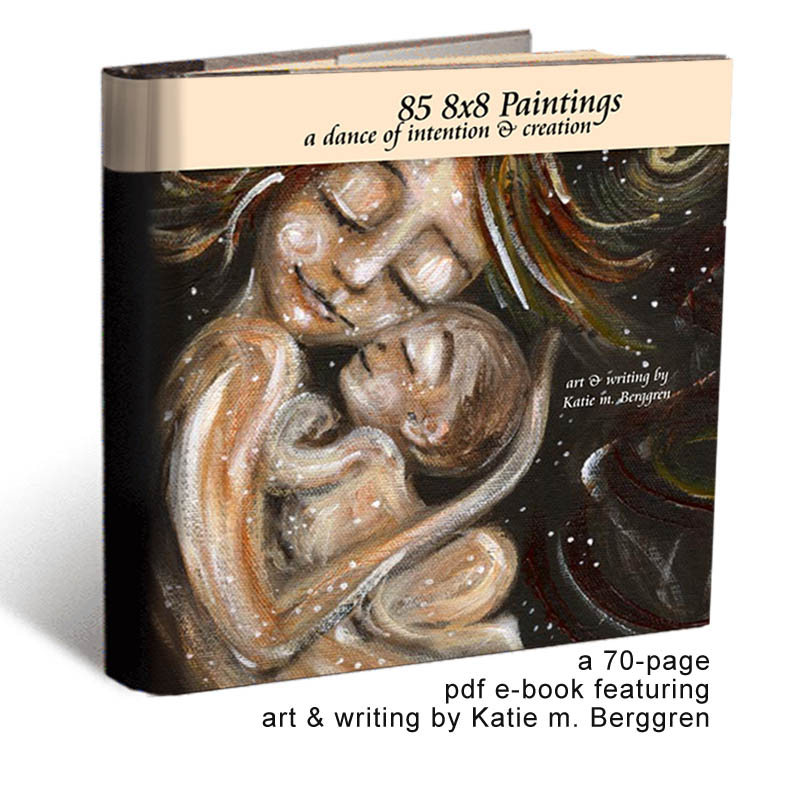 Katie m. Berggren e-book ~ 85 8x8 Paintings