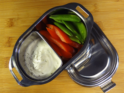 Plenty-full non toxic stainless steel lunch containers