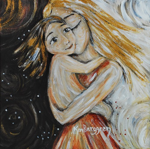Lost Together, painting by Katie m. Berggren