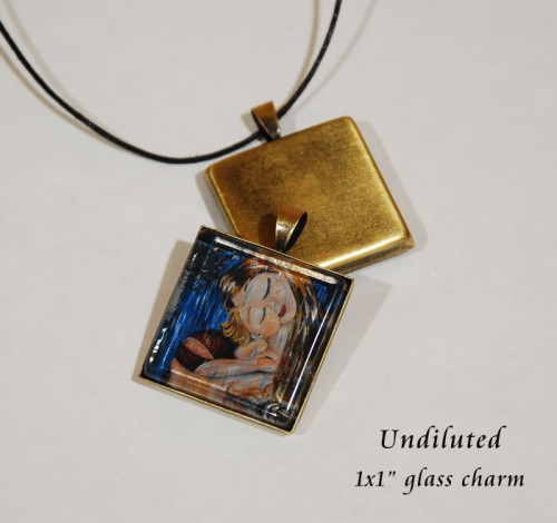 Undiluted, glass charm by Katie m. Berggren - just $17 in the online Studio Shop