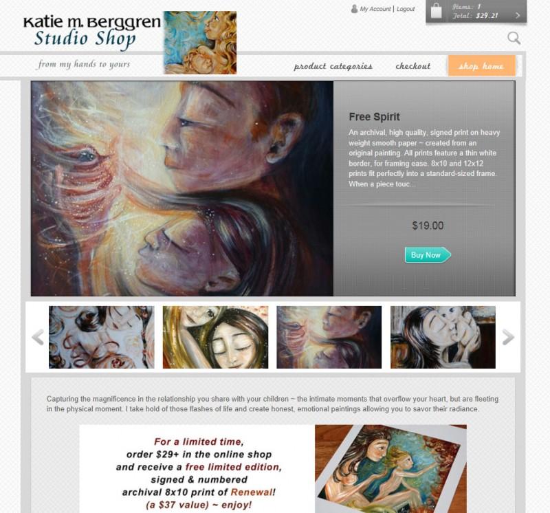 Katie m. Berggren Studio Shop