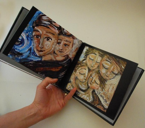 Mother and Child Painting Art Book by Katie m. Berggren
