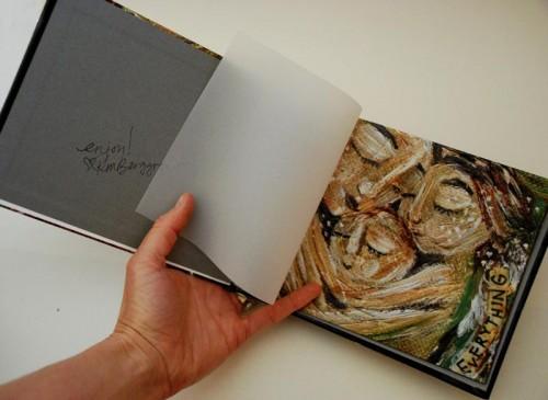 Mother and Child glossy art book hardbound by Katie m. Berggren
