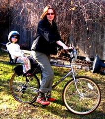 baby on bike, photo found online