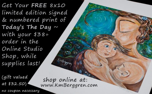 Get A Free 8x10 Print of Today's The Day