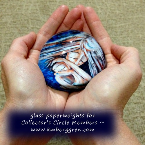 Beautiful Glass Paperweights for The Collector's Circle Members