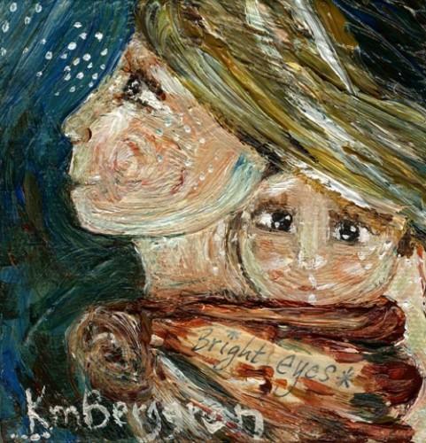 Bright Eyes by Katie m. Berggren