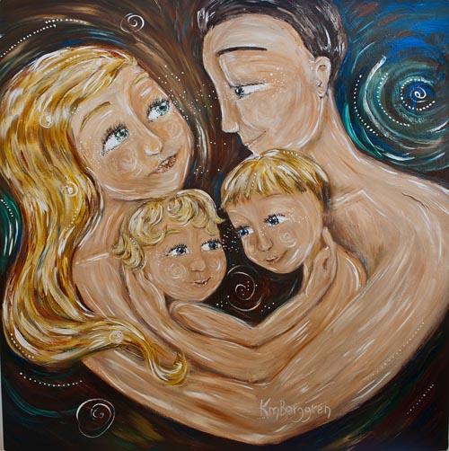 4 Loves ~ paintings as presents