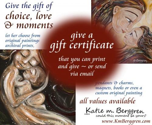 Katie m. Berggren Gift Certificate