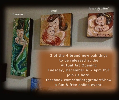 Today at 4pm PST ~ Virtual Art Opening