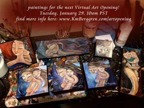 Virtual Art Opening with Katie m. Berggren