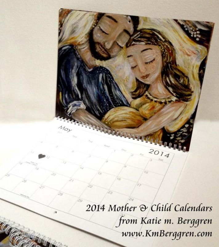 2014 Mother & Child Calendars from Katie m. Berggren